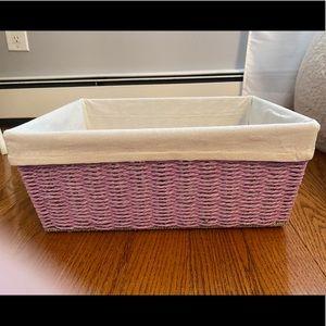 Storage & Organization - Purple basket
